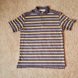Callaway Striped Golf Polo Shirt